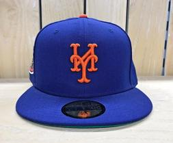 NEW ERA NEW YORK METS 1969 WORLD SERIES BLUE FITTED HAT CAP