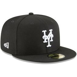 New York Mets New Era 59FIFTY Fitted Hat - Black