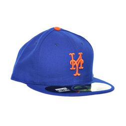 New Era New York Mets 59Fifty Fitted Hats Athletic Caps Blue