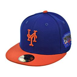 New Era New York Mets 59Fifty Men's Fitted Hat Cap Navy Blue