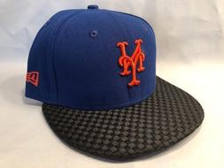 NEW YORK METS New Era 59Fifty Wovenrine Fitted Cap Hat Size