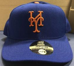 New York Mets Blue Orange Authentic ON FIELD Game Fitted Hat
