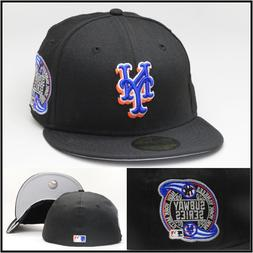 New Era New York Mets Fitted Hat  SUBWAY World Series Patch