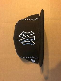 New York Yankee Team stitched new era fitted hats 7 3/8