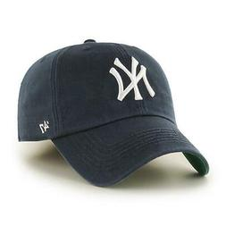New York Yankees '47 Brand Navy Blue Fitted Franchise Hat