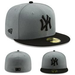 New Era New York Yankees Black Grey Kids 5950 Fitted Hat You