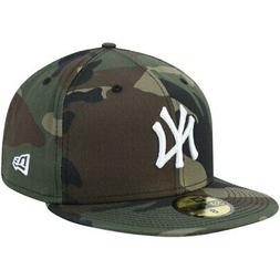 New York Yankees New Era Woodland Camo Basic 59FIFTY Fitted