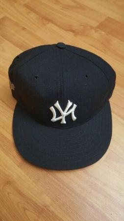 New Era -New York Yankees Fitted Hat 6 5/8 - 1996 World Seri