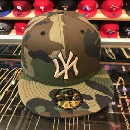 new york yankees fitted hat all woodland