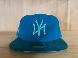 NEW ERA NEW YORK YANKEES FITTED HAT BASEBALL CAP 59FIFTY TUR