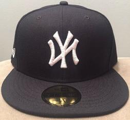 New York Yankees Fitted Hat Cap New Era-Size 7 5/8