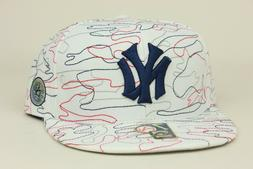 New York Yankees White Navy Red Gry American Needle Cooperst