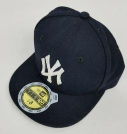 New York Yankees New Era Youth 59FIFTY Fitted Baseball hat.