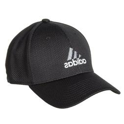 New Adidas Zags II Climalite Black Stretch Fit Fitted L/XL M