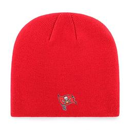 OTS NFL Tampa Bay Buccaneers Beanie Knit Cap, Red, One Size