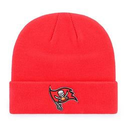 OTS NFL Tampa Bay Buccaneers Raised Cuff Knit Cap, Torch Red