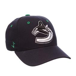 ZHATS NHL Vancouver Canucks Men's Power Play Fitted Hat, Siz