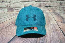 NWT BOYS YOUTH UNDER ARMOUR UA PRO FIT GREEN BASEBALL CAP SN
