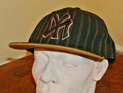 NWT Cooperstown Collection NY Yankees Size 8 Fitted Flat Bil