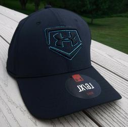 """NWT UNDER ARMOUR HeatGear """"Undeniable"""" Mens Flex Fitted Hat-"""