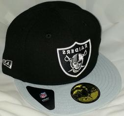 NWT NEW ERA LAS VEGAS RAIDERS LV oakland 59FIFTY fitted foot