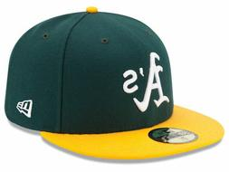 New Era Oakland Athletics HOME 59Fifty Fitted Hat  MLB Cap