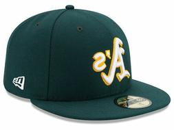 New Era Oakland Athletics ROAD 59Fifty Fitted Hat  MLB Cap