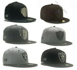 Oakland Raiders Fitted New Era 59FIFTY HATS