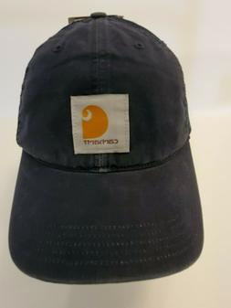 OFFICIAL CARHARTT Fitted Black Trucker, Hunting, Work Hat /
