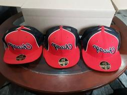 One New Era 59fifty Chicago Bulls Fitted Cap 7 1/4