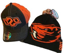 OSU Oregon State Fitted Zephyr 2019 NCAA Sport Knit Pom Bean