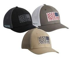 Columbia PFG Fish Flag Flexfit Ball Cap
