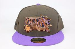 Philadelphia 76ers Brown / Purple Lid / Bronze Orange New Er
