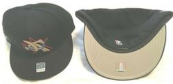 PHILADELPHIA 76ERS FLAT BRIM FITTED PICK YOUR SIZE BLACK NBA