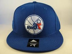Philadelphia 76ers NBA Adidas Fitted Hat Cap Size 7 1/2 Blue