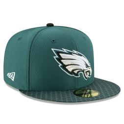 Philadelphia Eagles 59Fifty New Era Fitted Hat Size 7 1/8