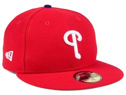 Philadelphia Phillies New Era 59FIFTY Fitted Cap Hat Game Au