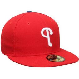 Philadelphia Phillies Fitted New Era 59FIFTY On Field Red Ca