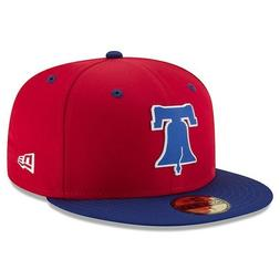 Phillies New Era 59FIFTY 5950 MLB LP Fitted Hat Cap Size 7 1