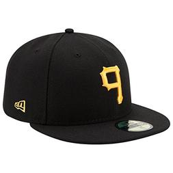 Men's Pittsburgh Pirates New Era Black Game Authentic Collec