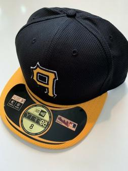 NEW ERA Pittsburgh Pirates GAME 59Fifty Fitted Hat MLB Cap S