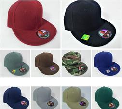 plain fitted cap blank baseball solid pit