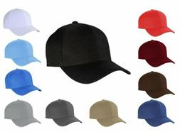 plain multi color polyester fitted size baseball
