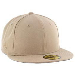 New Era Plain Tonal 59Fifty Fitted Hat  Men's Blank Cap