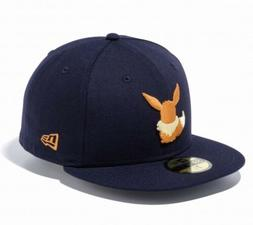 NEW ERA × POKEMON 59FIFTY Cap Hat Fitted Navy Color Eevee S