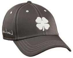 Black Clover Premium Clover 26 White/Grey/Grey S/M Fitted Ha