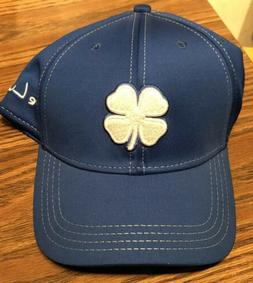 Black Clover Premium Clover Blue L/XL Fitted Hat Live Lucky