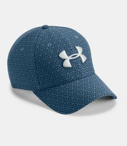 UNDER ARMOUR PRINTED BLITZING 3.0 CAP HAT STRETCH FIT SIZE M