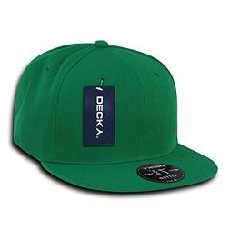 DECKY Retro Fitted Cap, Kelly Green, 6 7/8