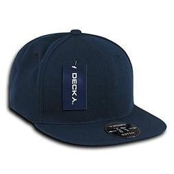 DECKY Retro Fitted Cap, Navy, 7 3/8
